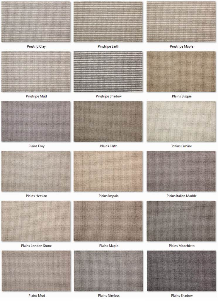 Manx Carpets - Natural Collection - Natural Shades range