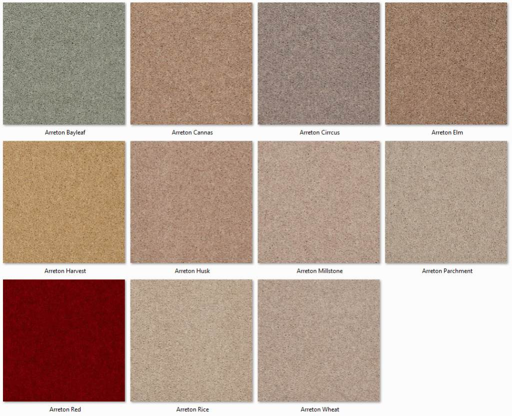 Manx Carpets - Twist Collection - Ashworth Heathers range