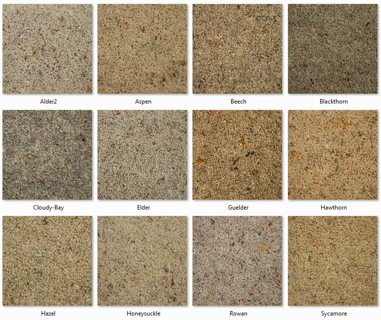 Manx Carpets - Twist Collection - Castle Berber range