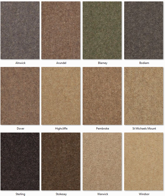 Manx Carpets - Twist Collection - Castle Twist range