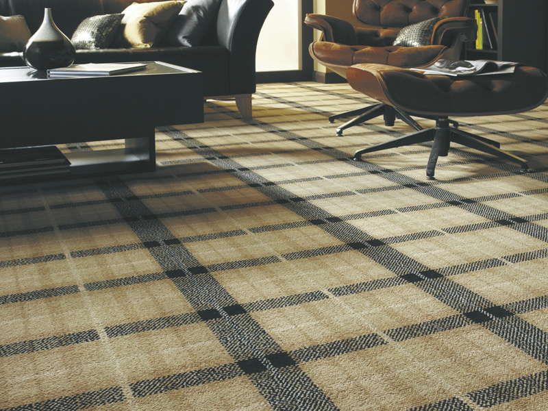 Axminster - Natural Plaid