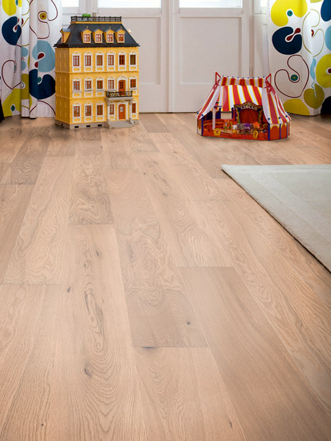 P67. Harlech Oak Rustic White Oiled Plank
