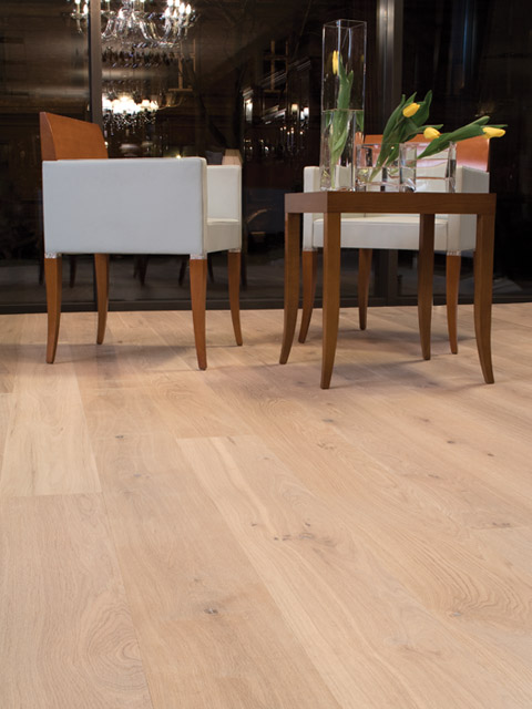 P79. Windsor Oak Rustic White Oiled Plank