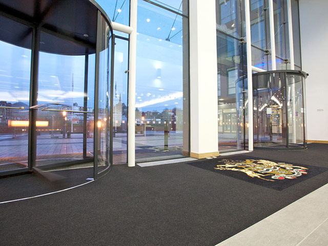 Paragon Flooring - Workspace Entrance