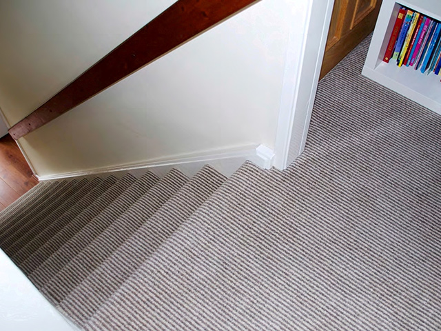 Penthouse Carpets - Quartz Stripe Room