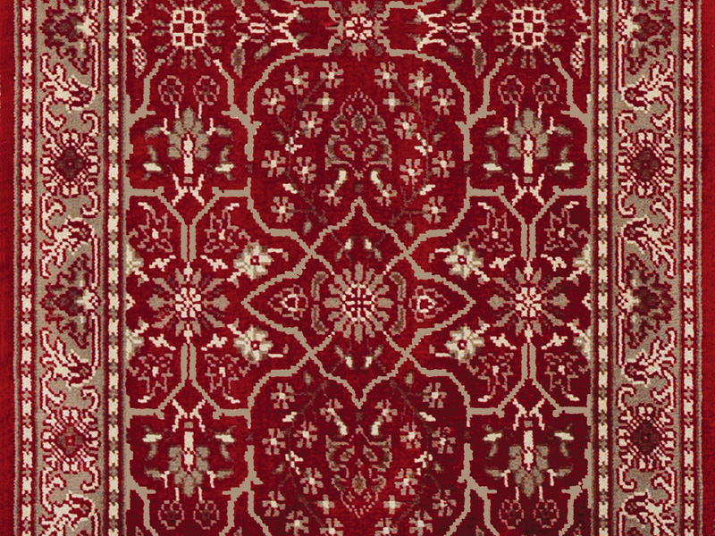 Louis De Poortere Carpets - Persian Burgendy