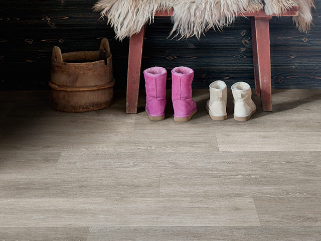 Polyflor - Camaro Loc Wood - Smoke Limed Oak