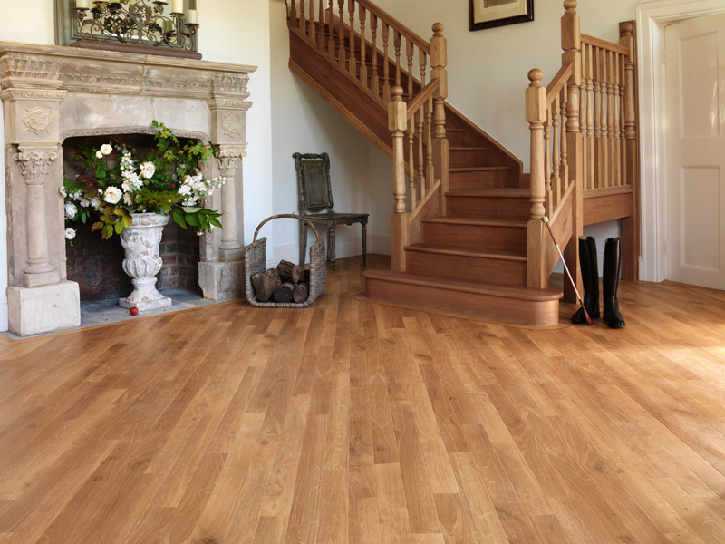 Karndean - Da Vinci Wood Flooring - RP90 Fresco Light Oak