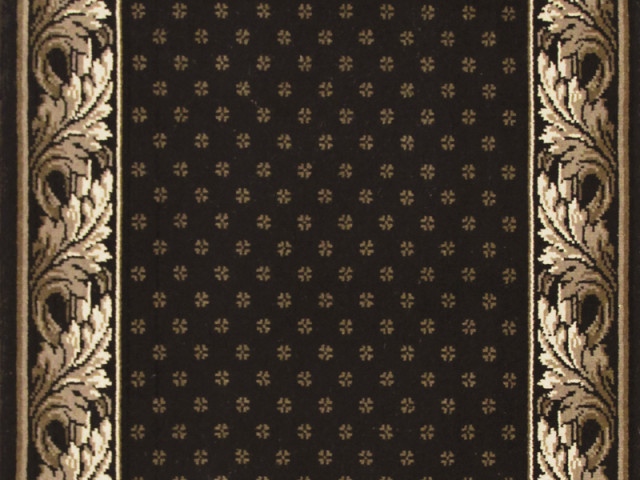 Louis De Poortere Carpets - Royal Aubusson Black