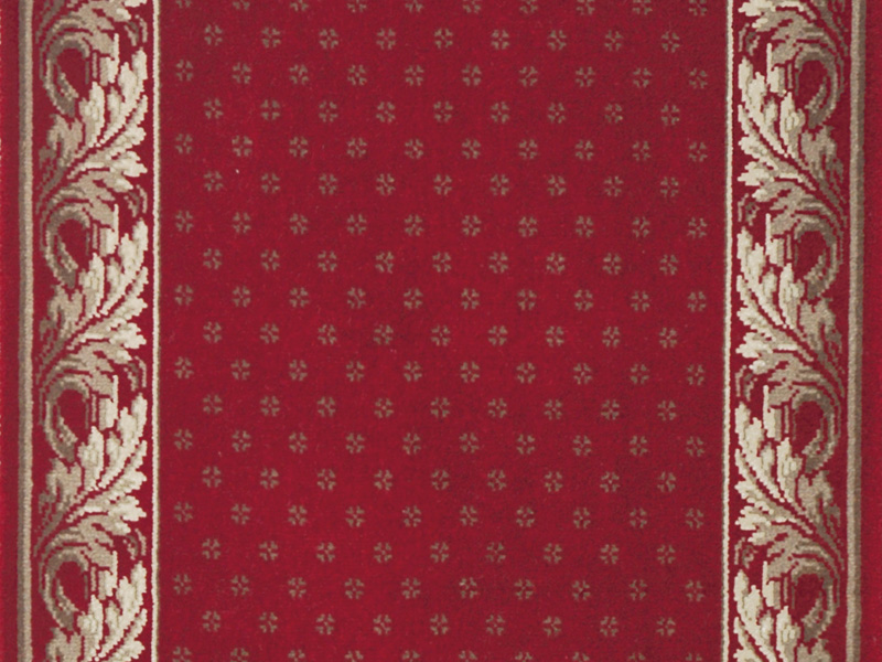 Louis De Poortere Carpets - Royal Aubusson Red