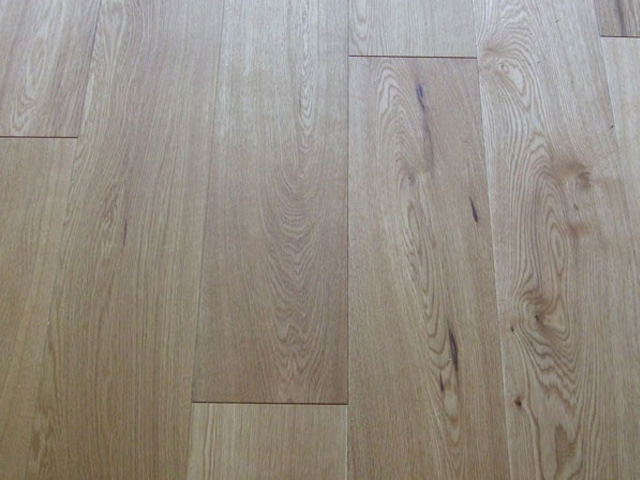Rustic Oak Oiled Floor Laid In Private House