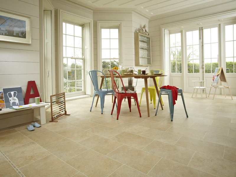 Karndean - Knight Tile Stone Tiles - ST11 York Stone