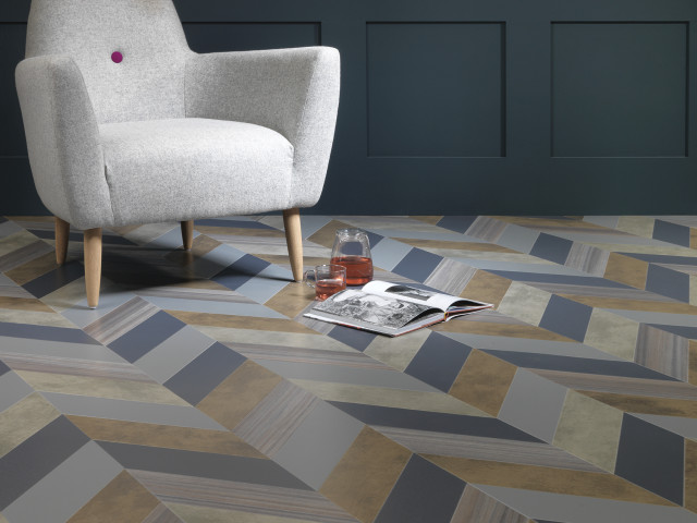 Amtico – Shimmer Denim-Shimmer Metal-Patina Vapour-Patina Lune-Equator Wave-Herringbone Pleat