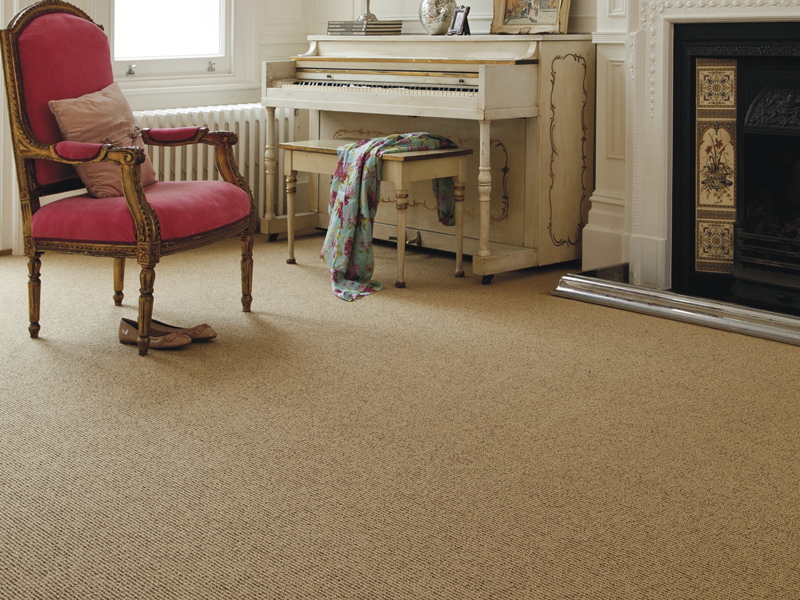 Axminster - Simply Natural Ribgrass in Straw Walnut