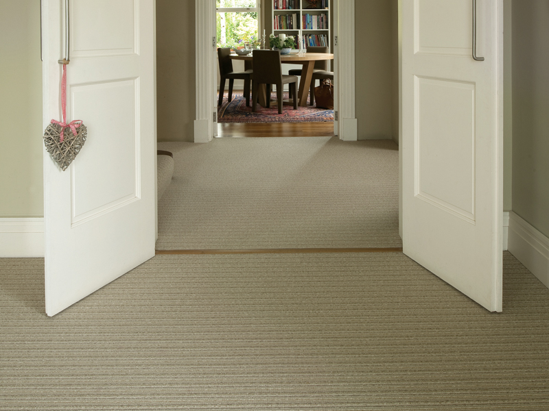 Ulster Carpets - Open Spaces - Wellington Stripe Reed