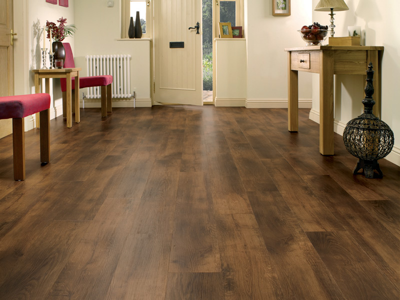 Karndean - Van Gogh Wood Flooring - VGW70T Smoked Oak