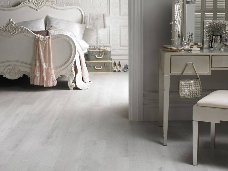 Karndean - Van Gogh Wood Flooring - VGW80T White Washed Oak