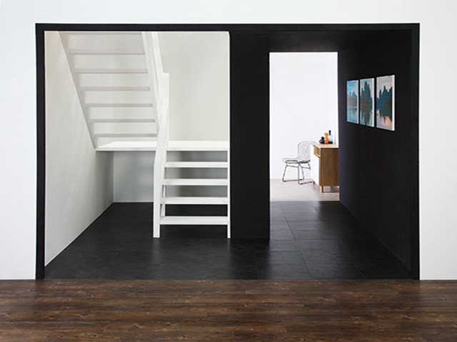 Amtico – Wave Slate Black 1