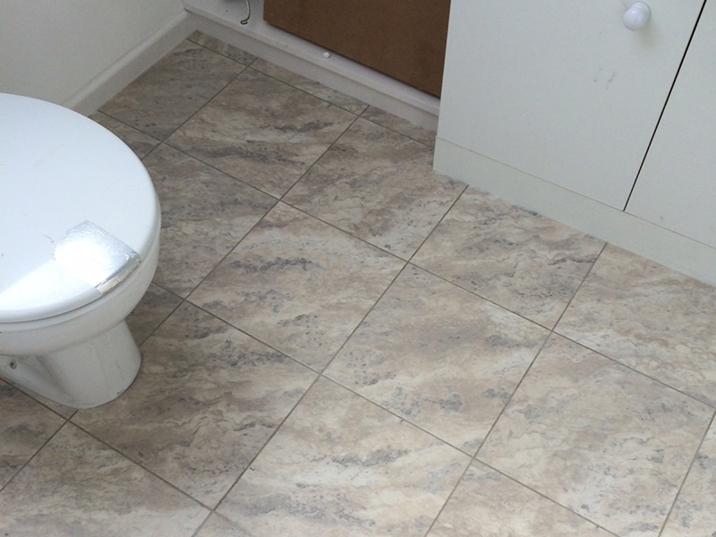 Amtico Bathroom, Smooth Floors