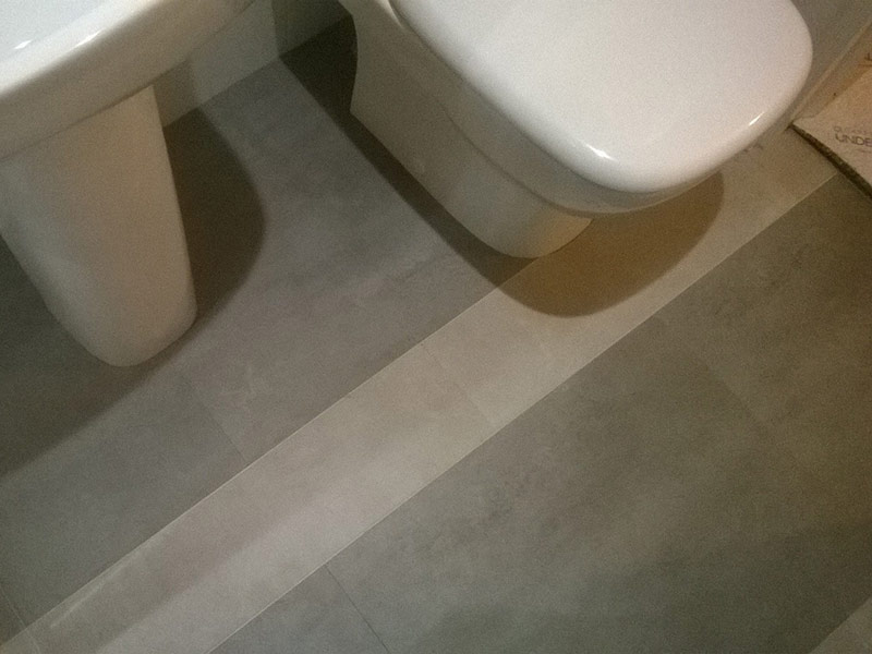 bathroom amtico and carpet