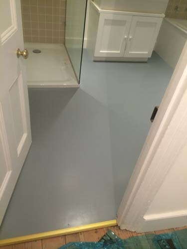 bathroom kitchen grey rubber flooring 5
