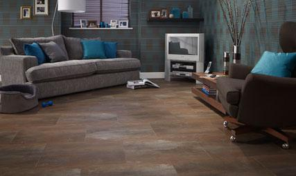 Designflooring Rather Than Adding Splashes Of Metallic Throughout Your Room Why Not Look To The Floor Complete Inspired By