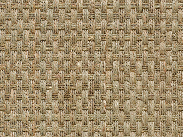 Crucial Trading - Seagrass - Fine Basketweave Natural