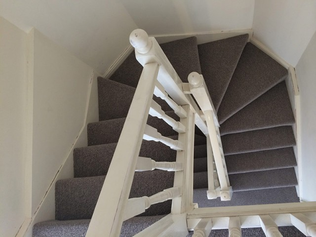 Stairs, Install carpet to stairs