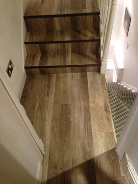 hall stairs and landings Amtico 06
