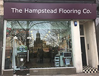 Hampstead flooring sign