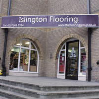 Islington flooring sign