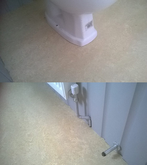 marmoleum into bathroom rawcliffe 03