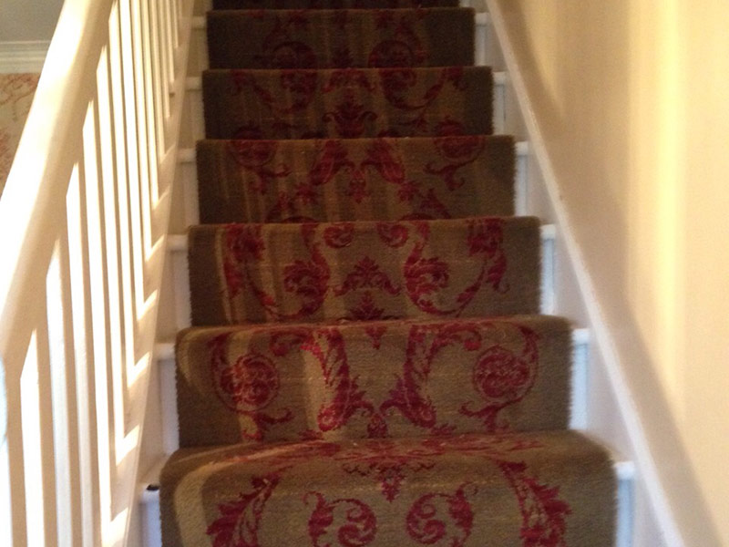 Stairs Patterned Carpet