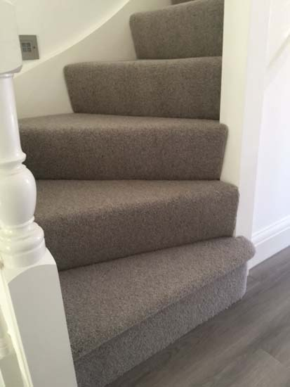 portfolio carpet grey stairs installation 02