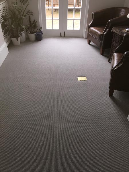 portfolio carpet striped grey brown carpet 02