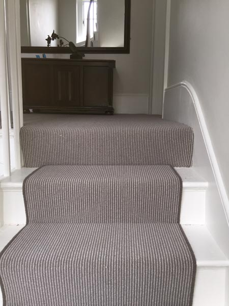 portfolio carpet striped grey brown carpet 03