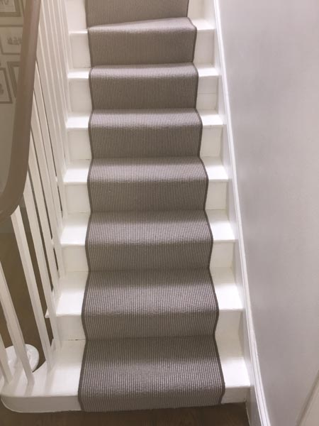 portfolio carpet striped grey brown carpet 04