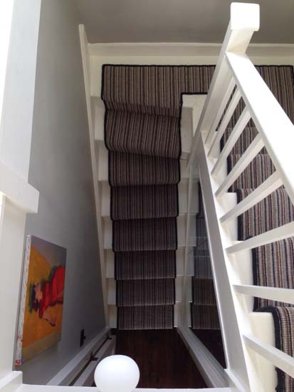 portfolio carpet stripey staircase grey 02