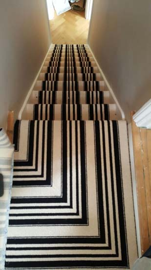 Black And White Stripe Carpet The Flooring Group