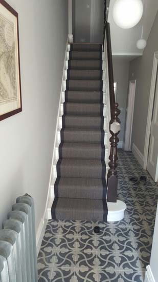 portfolio carpets black stair runner with black border carpet 04