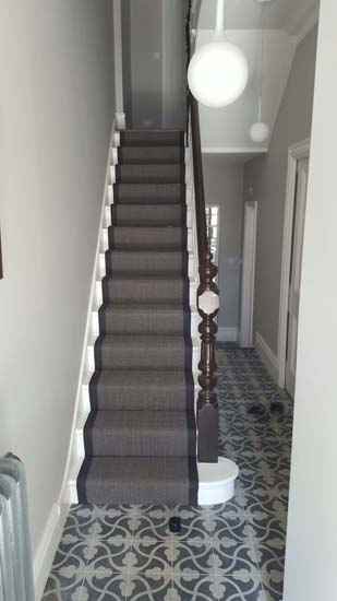 portfolio carpets black stair runner with black border carpet 05