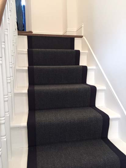 portfolio carpets black stairs black binding 01