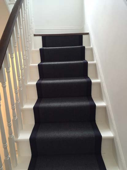 portfolio carpets black stairs black binding 02