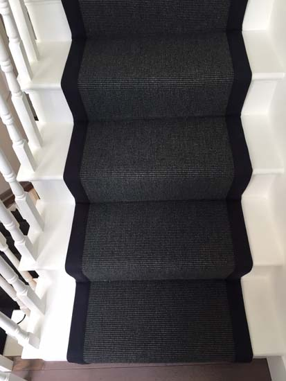 portfolio carpets black stairs black binding 04