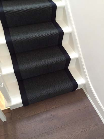 portfolio carpets black stairs black binding 06