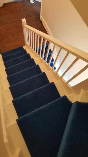 portfolio carpets blue stair runner 08