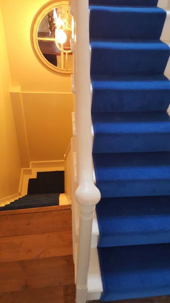 portfolio carpets blue stair runner 11