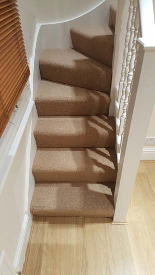 portfolio carpets - brown stairs 01