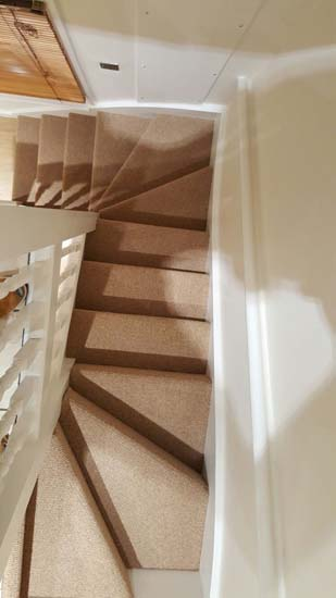 portfolio carpets - brown stairs 02