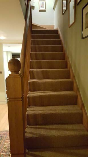 portfolio carpets - brown stairs 03